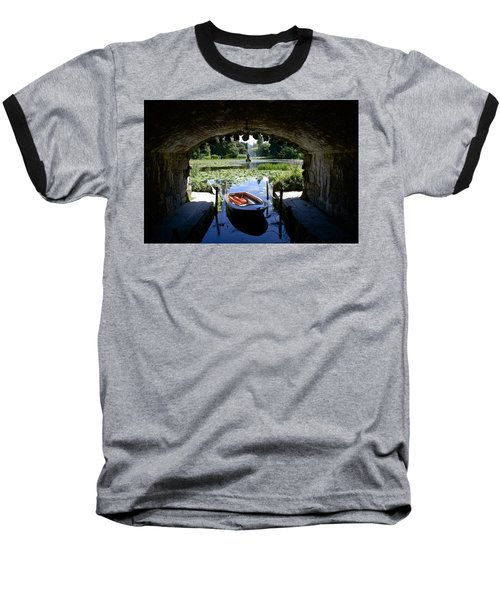 Hidden Boat Baseball T-Shirt by Charlie Brock
