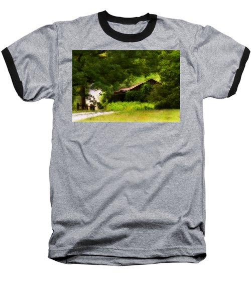 Hidden Down The Road Baseball T-Shirt