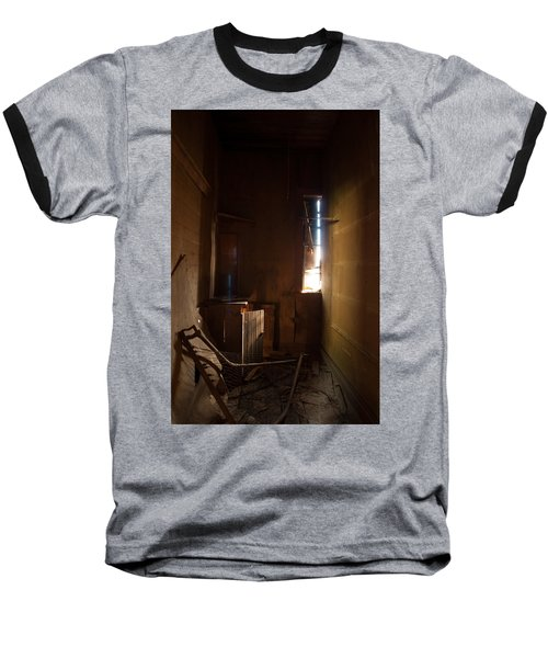 Baseball T-Shirt featuring the photograph Hidden In Shadow by Fran Riley