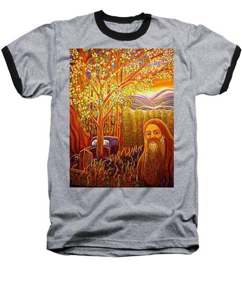 Hidden Mountain Man Baseball T-Shirt