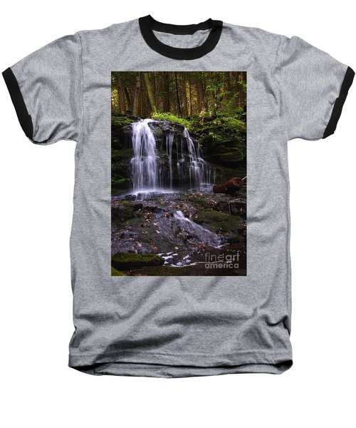 Hidden Waterfalls Of Wayne County I Baseball T-Shirt