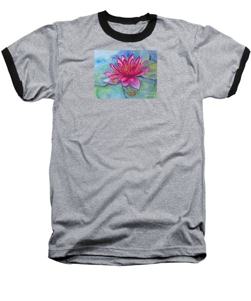 Baseball T-Shirt featuring the painting Hide And Seek by Beatrice Cloake
