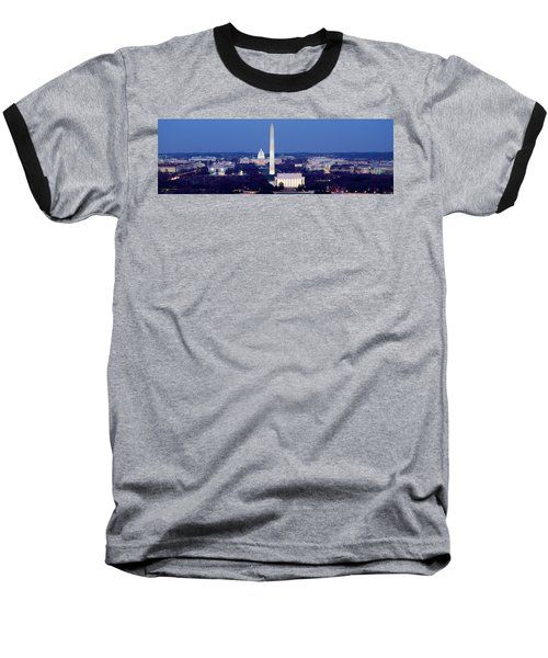 High Angle View Of A City, Washington Baseball T-Shirt