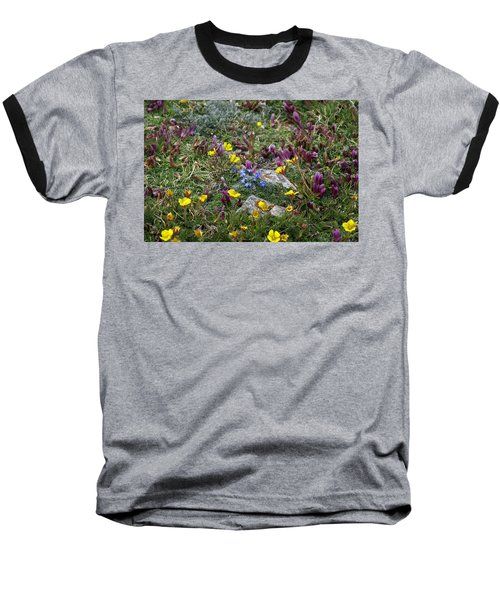 Baseball T-Shirt featuring the photograph High Anxiety by Jeremy Rhoades