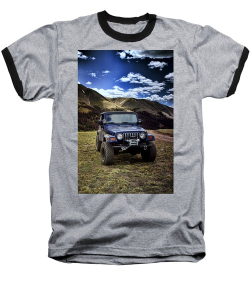 High Country Adventure Baseball T-Shirt