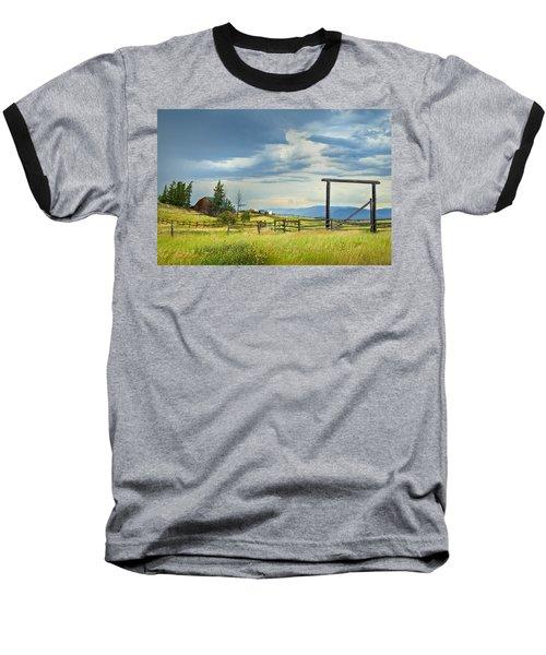 High Country Farm Baseball T-Shirt by Theresa Tahara