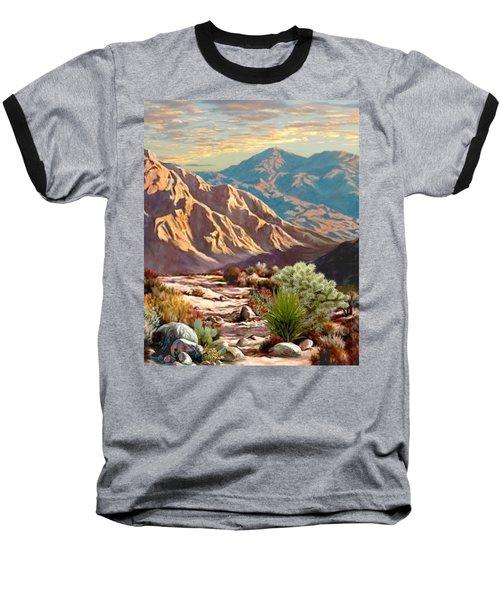 High Desert Wash Portrait Baseball T-Shirt