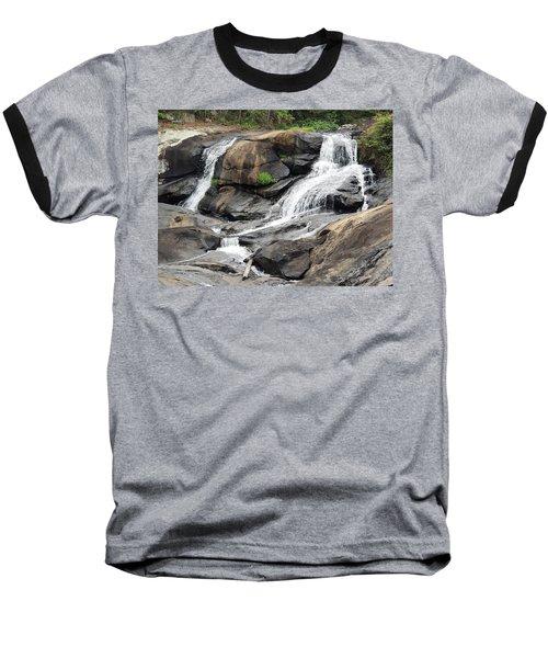 Baseball T-Shirt featuring the photograph High Falls by Aaron Martens