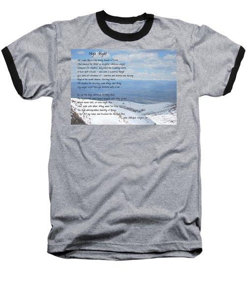 High Flight Baseball T-Shirt