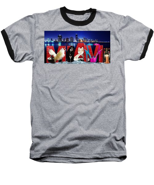 High Heels Miami Baseball T-Shirt