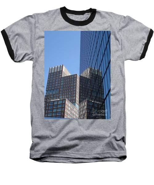 High Rise Reflection Baseball T-Shirt