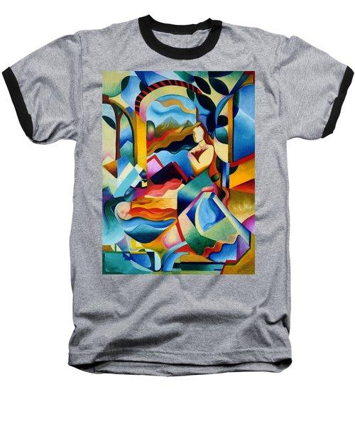 High Sierra Baseball T-Shirt by Sally Trace