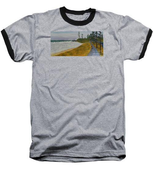 High Tide  Baseball T-Shirt by Pamela  Meredith