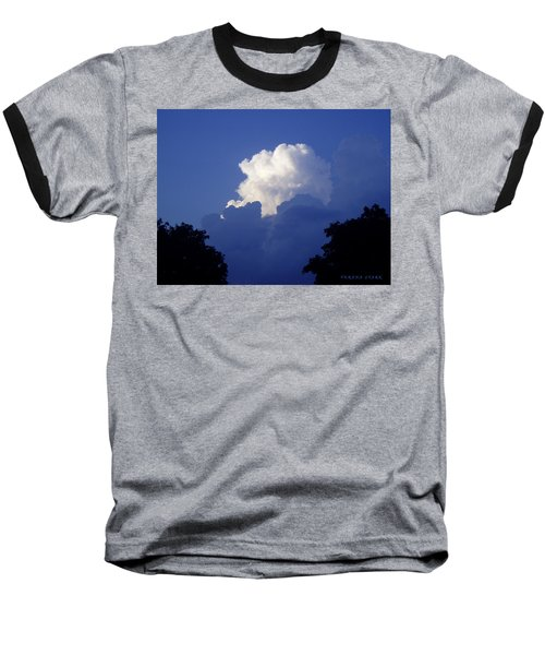 High Towering Clouds Baseball T-Shirt