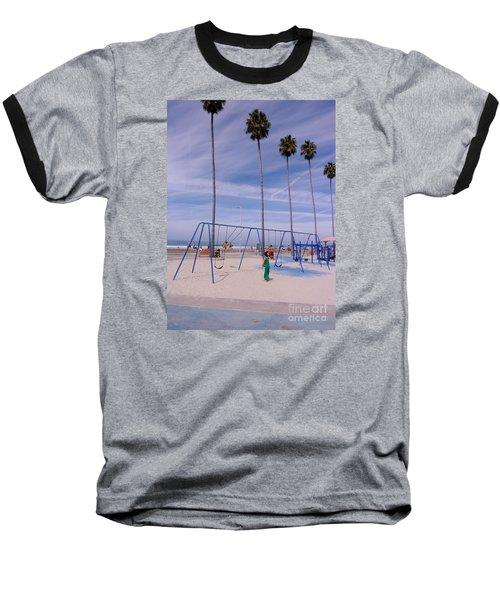 Higher  Baseball T-Shirt by Susan Garren