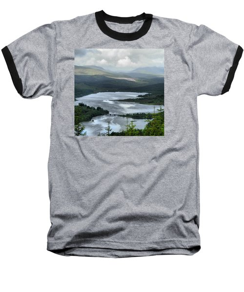 Highland Loch At Lochaber Baseball T-Shirt