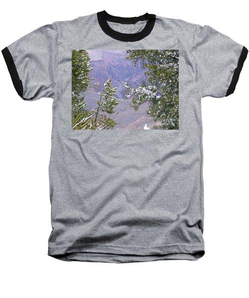 Baseball T-Shirt featuring the photograph Highlighting Snow by Roberta Byram