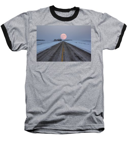 Highway To The Moon Baseball T-Shirt