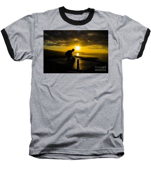 Hiker @ Diamondhead Baseball T-Shirt