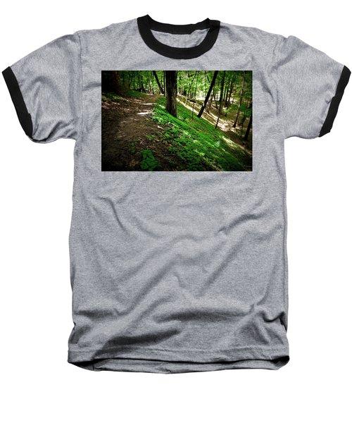 Hiking The Ridge Baseball T-Shirt