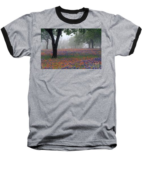 Hill Country - Fs000912 Baseball T-Shirt by Daniel Dempster