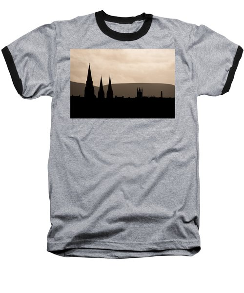 Hills And Spires Baseball T-Shirt