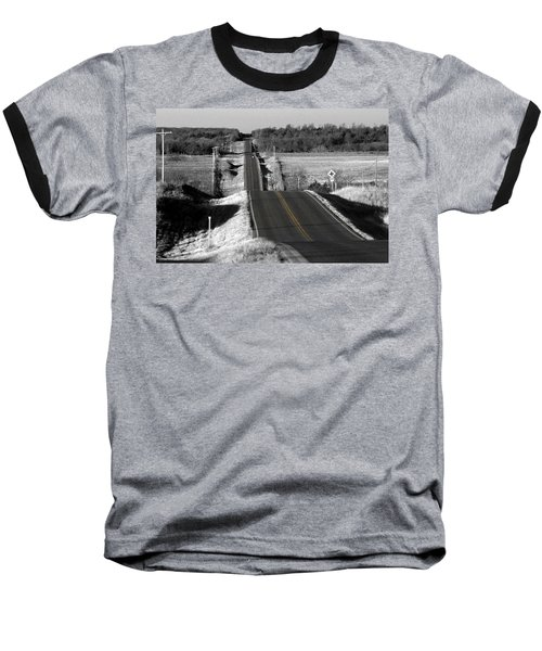 Baseball T-Shirt featuring the photograph Hilly Ride by Brian Duram