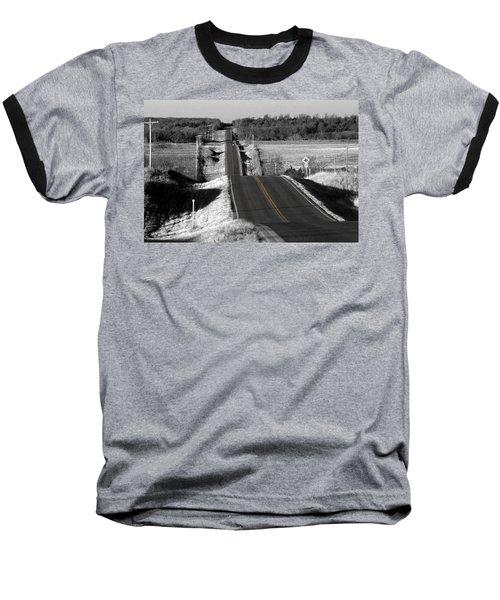 Hilly Ride Baseball T-Shirt