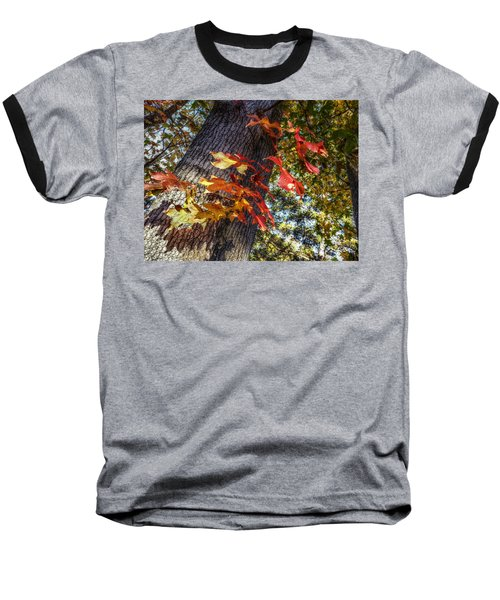 Hints Of Fall Baseball T-Shirt