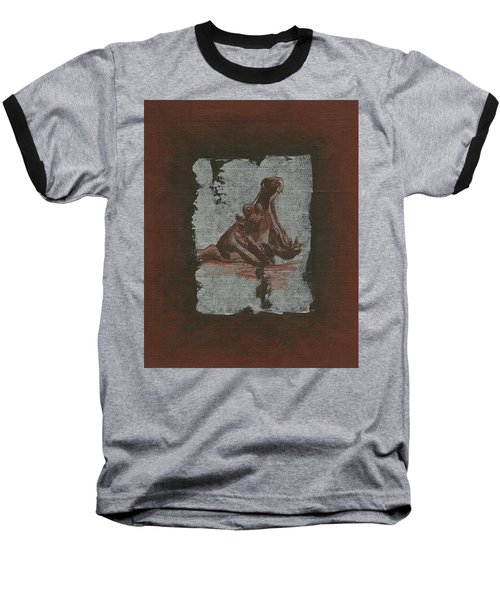 Hippo Baseball T-Shirt