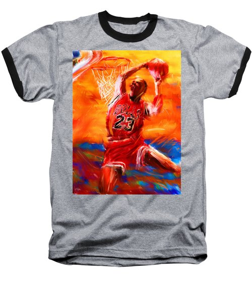 His Airness Baseball T-Shirt by Lourry Legarde