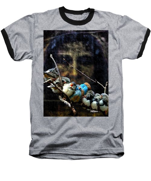 His Eye Is On The Sparrow Baseball T-Shirt