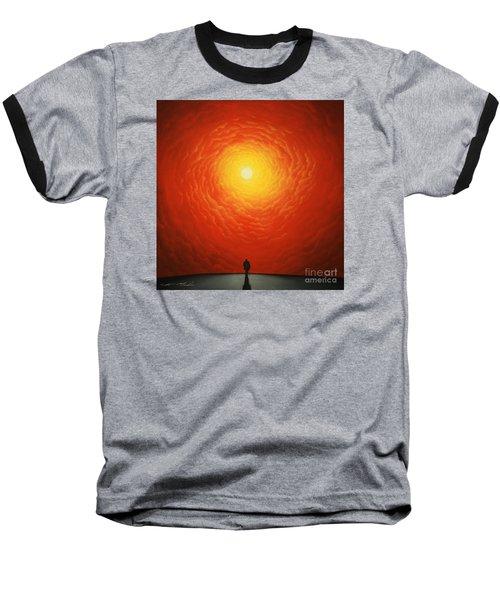 His Final Destiny Baseball T-Shirt