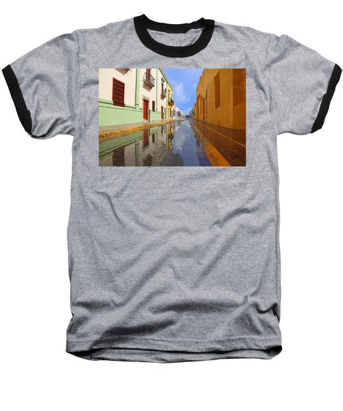 Historic Campeche Mexico  Baseball T-Shirt