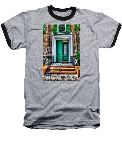Historic Charleston Sc Door Baseball T-Shirt