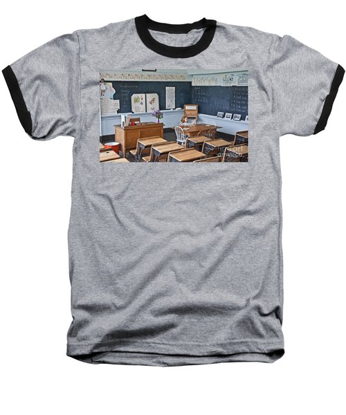 Historic School Classroom Art Prints Baseball T-Shirt