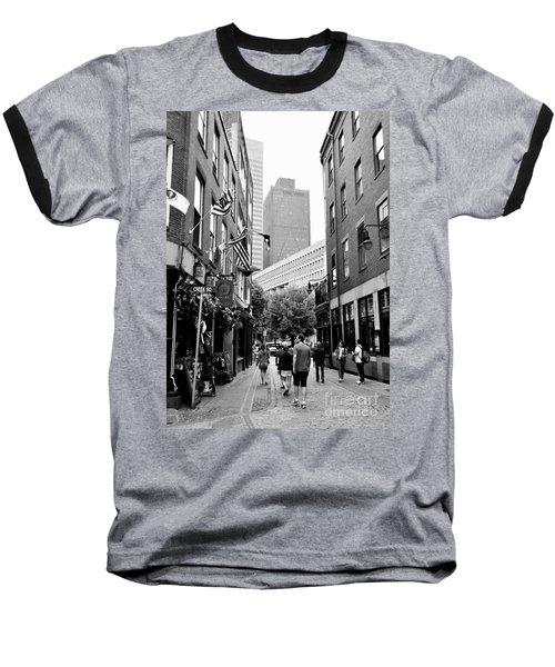 Historic Union Street Boston Ma Baseball T-Shirt