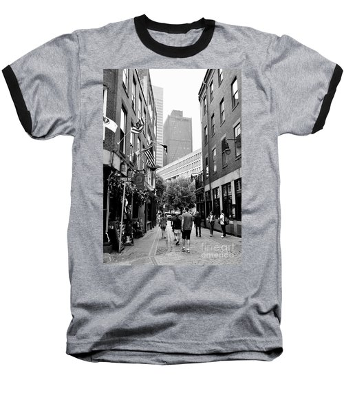 Historic Union Street Boston Ma Baseball T-Shirt