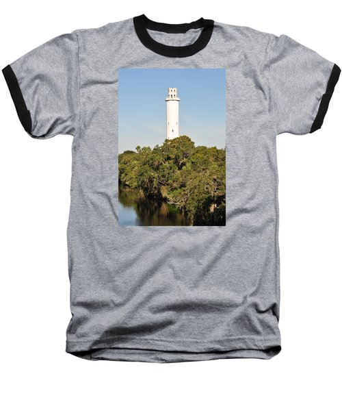 Historic Water Tower - Sulphur Springs Florida Baseball T-Shirt
