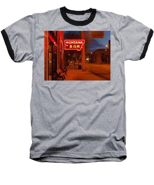 Historical Montana Bar Baseball T-Shirt