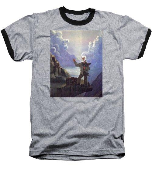 Hitchhiker Baseball T-Shirt by Richard Faulkner