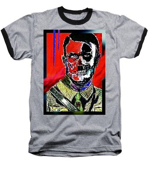 Hitler  - The  Face  Of  Evil Baseball T-Shirt