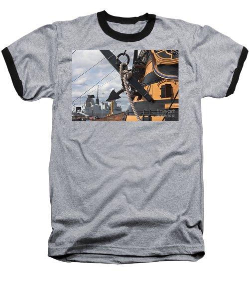Hms Diamond And Hms Victory Baseball T-Shirt