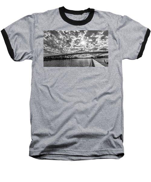 Hoan Bridge Peak Thru Baseball T-Shirt