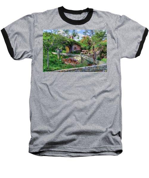 Hobbit Hole 7 Baseball T-Shirt