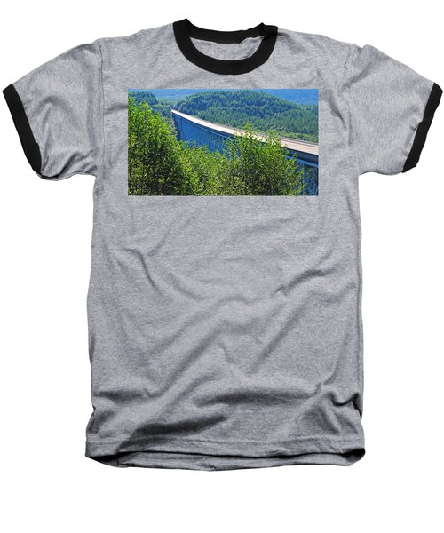 Hoffstadt Creek Bridge To Mount St. Helens Baseball T-Shirt