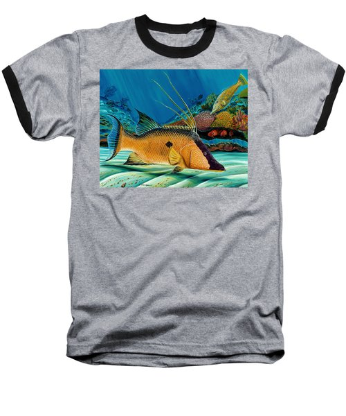 Hog And Filefish Baseball T-Shirt