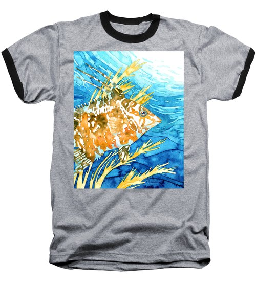 Hogfish Portrait Baseball T-Shirt