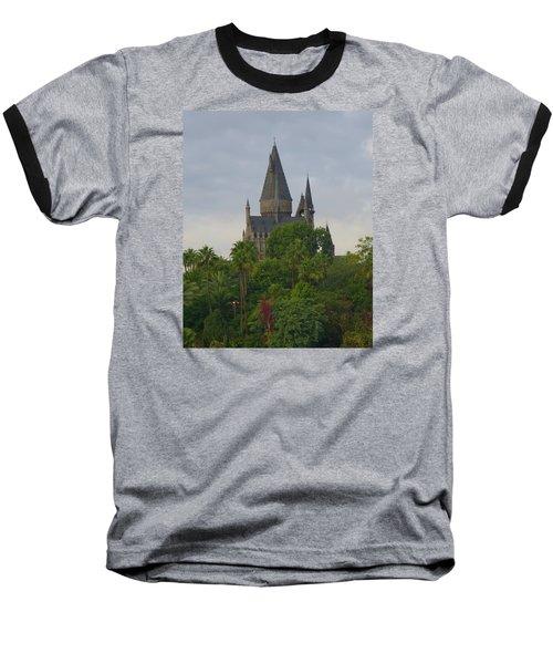 Hogwarts Castle 1 Baseball T-Shirt