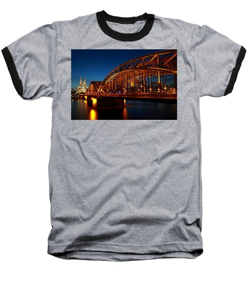 Hohenzollern Bridge Baseball T-Shirt